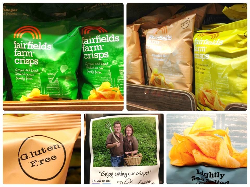 英國直送 FairFields Farm厚切薯片(150g)