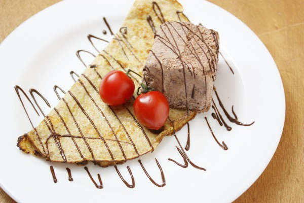 法式薄餅兩食︰Galette 與 La Creperie